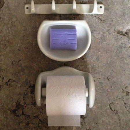Toilet og badeværelse