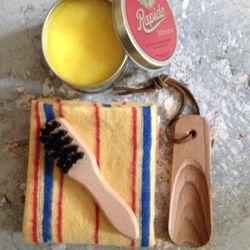 Pudsesæt perfekt til sko, tasker, bælter eller møbler