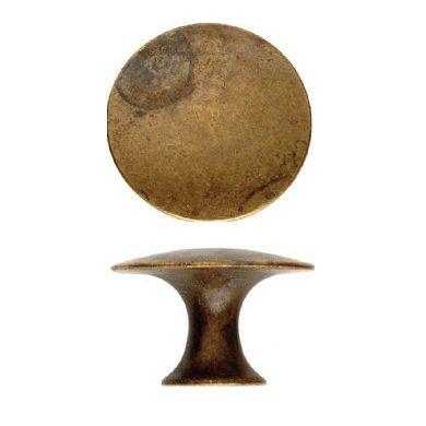 Skuffeknop med fladt hoved