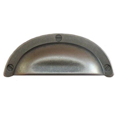 Sølv grå skuffeskål