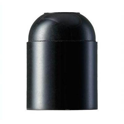 Glat fatning i sort duroplast