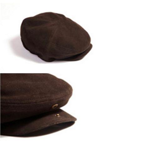 Kasket molskind brun