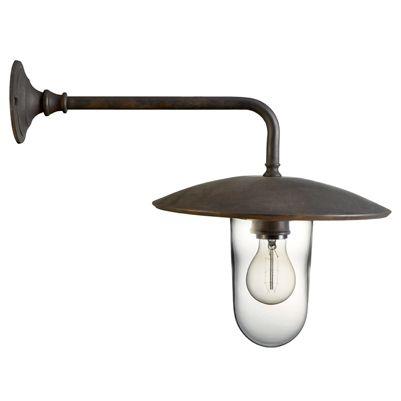 Udendørslampe Knækket Classic