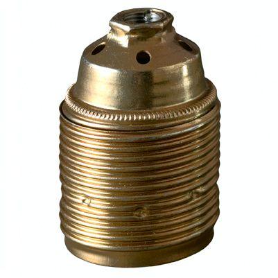 Metal fatning til omløber ring