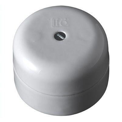 Super Samledåse til ledninger i porcelæn. Her samles det hele pænt og BG04