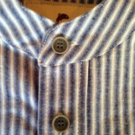 Skjorte blå stribe