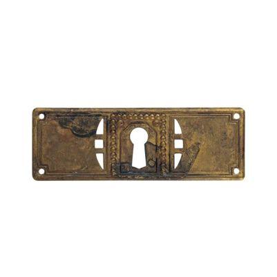 Nøgleskilt jugend stil til beskyttelse af nøglehul