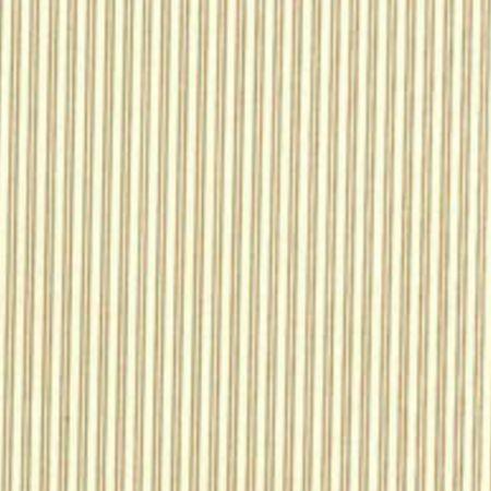 Tapet Sommarrand - hvid på brun