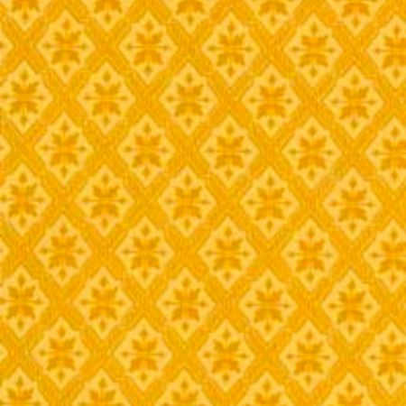 Tapet Mölletorp - gul dobbelttryk