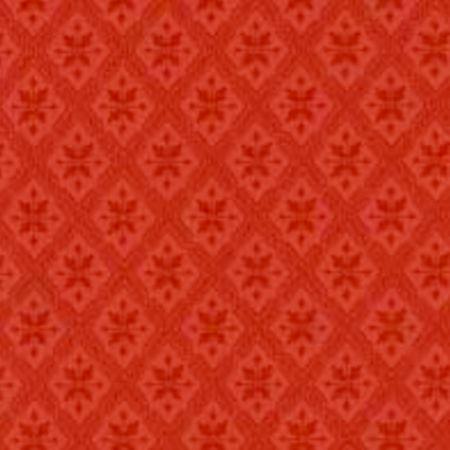 Tapet Mölletorp - rød dobbelttryk