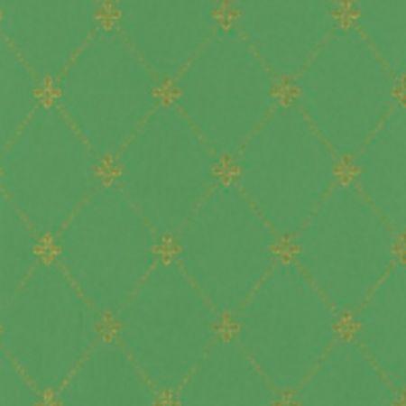 Tapet Filipsborg - Guld på grøn