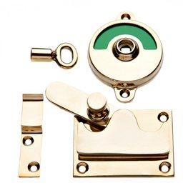Frisk frugt Toiletlås model 1930 fås i messing og forchromet messing. SW75