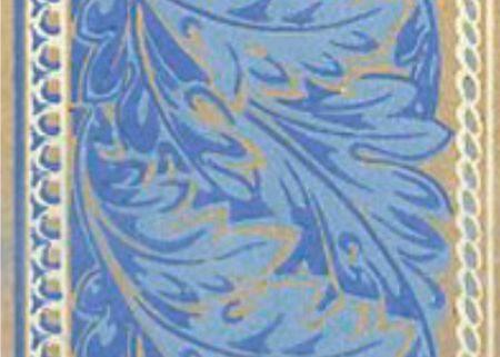 Tapet Bord - Victoria blå