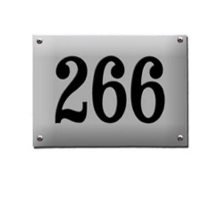 Emaljeskilt nummerskilt 1920