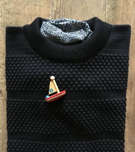 SNS crew neck sweater