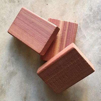 Cedertræs klods