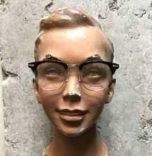 Briller på ansigt