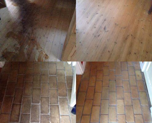 Hvordan skrubber jeg mit gulv?