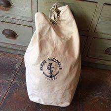 Rygsæk fra La Marine Nationale