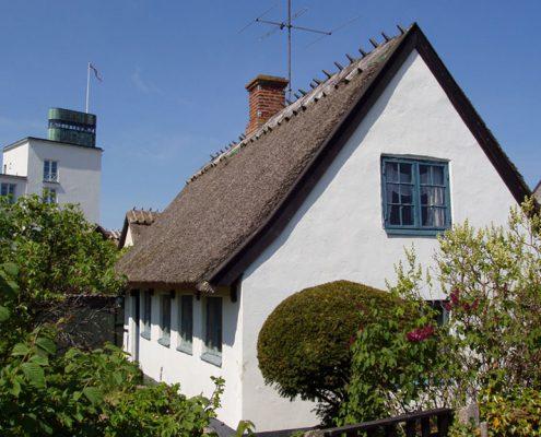 Hus i Hornbæk