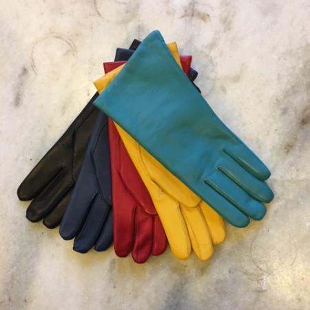 Turkis grøn handske