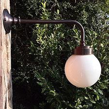 Funkis udendørslampe i lang udgave