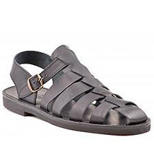 Sort herre sandal